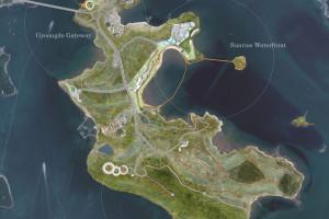 Zielona wyspa z prawdziwego zdarzenia. Tutaj pierwsze skrzypce gra natura
