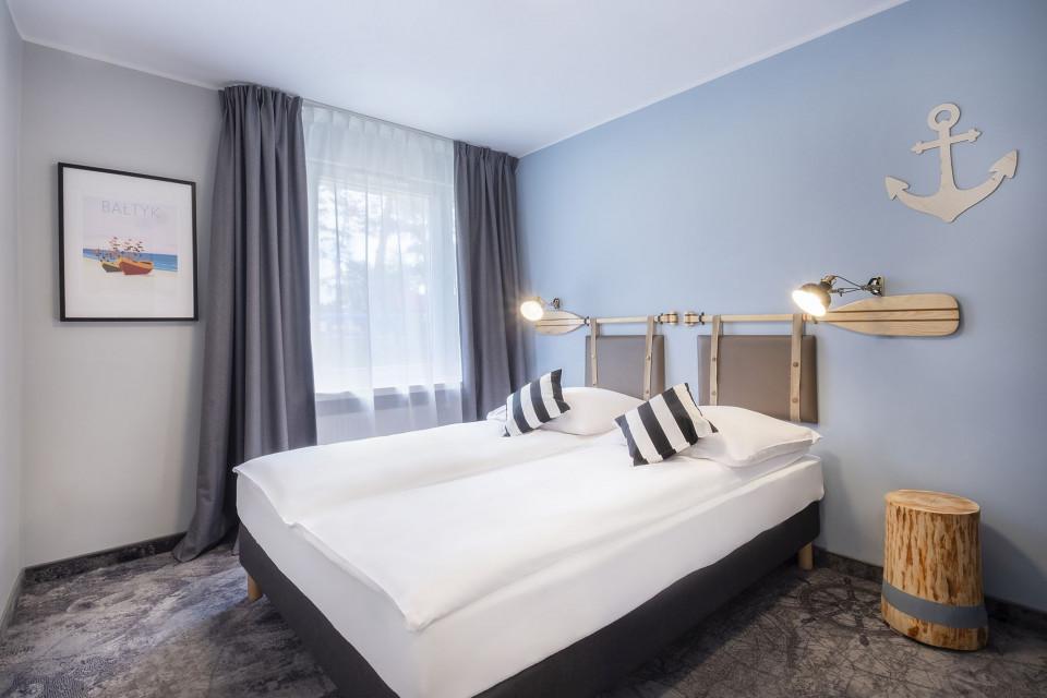 Hotel Cassubia na Helu w nowej odsłonie. Mimo pandemii udało się zmodernizować wnętrze