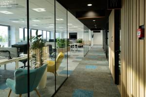 Metamorfoza pod znakiem koloru. Zobacz wnętrze biura w Katowicach