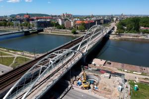 Tak wygląda nowy most w Krakowie. Inwestycja za 1 mld zł