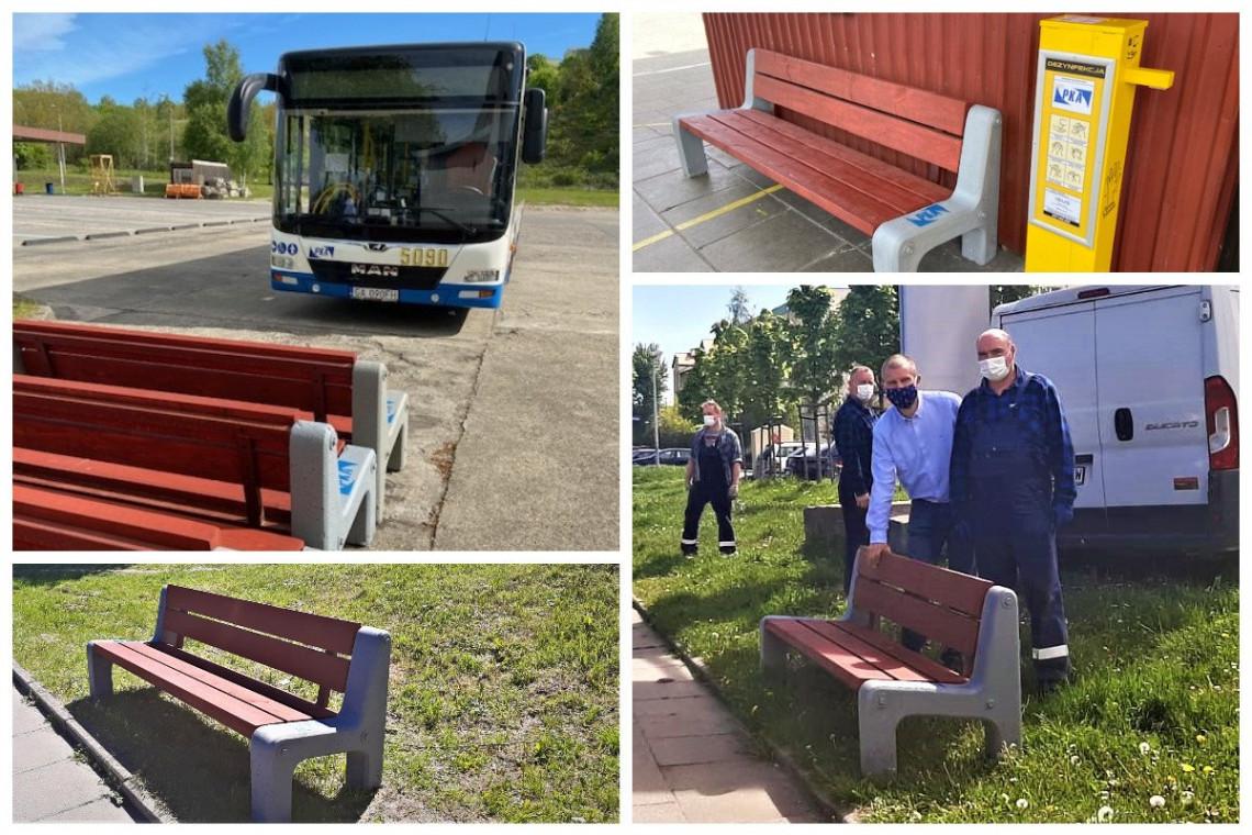 Nowe stare ławki w Gdyni