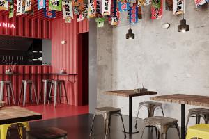 Łódź niczym Tokio. Projekt ramen shopu autorstwa pracowni Qbatura