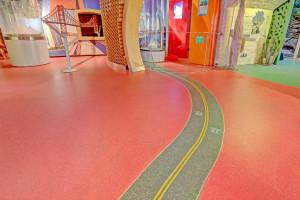 Sposób na podłogi w placówkach dla dzieci