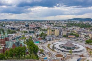 Centrum Komunikacyjne w Kielcach na finiszu budowy. Zobacz najnowsze zdjęcia