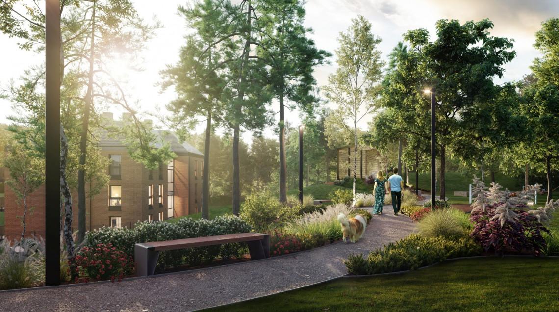 Tak wygląda najnowszy projekt MS 15 Architektura w Gdańsku. Inwestycja ma wpisać się w willową zabudowę