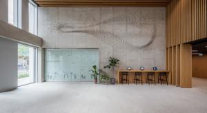 Rój 2.0. Niezwykła instalacja w lobby biurowca Nowy Targ we Wrocławiu