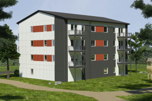 Polskie budynki w technologii modułowej o szkielecie drewnianym zdobywają Szwecję