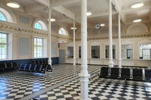 Dobiega końca przebudowa zabytkowego dworca w Białymstoku
