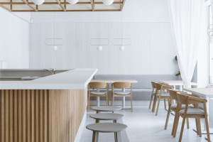 Restauracja w duchu Zen. Tak architekci odmienili wnętrze Futu Sushi