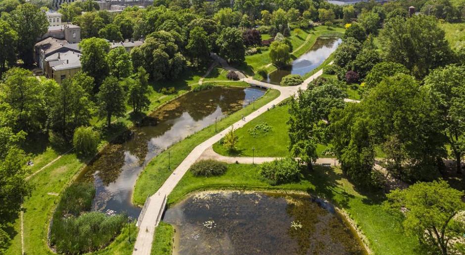 Odnowa parku Helenów w Łodzi. Wróci restauracja i pojawi się kino plenerowe