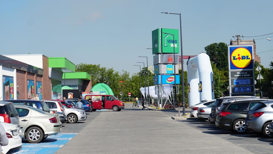 Nowa bryła handlowa w Płocku