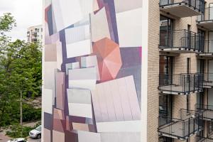 Warszawa ma nowy mural. Inspiracją było kultowe targowisko