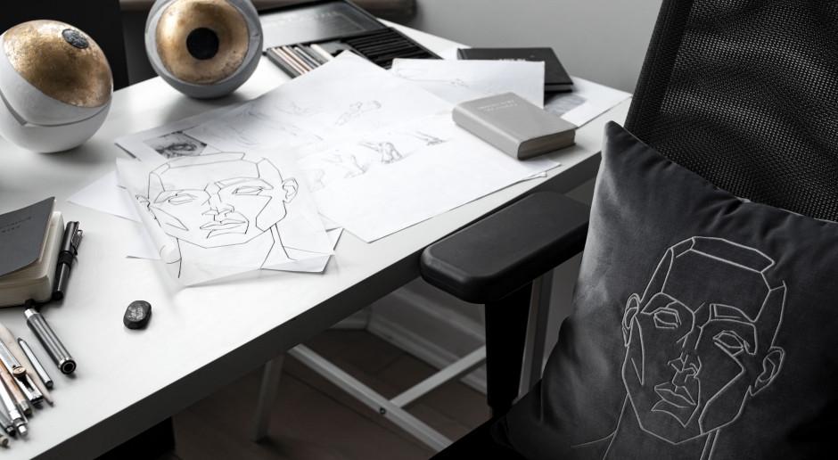 Malarskie motywy wplecione w nici, czyli nowa seria artystycznych poduszek