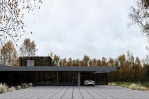 Najnowszy projekt Marcina Tomaszewskiego z Reform Architekt. Czy wpisze się w leśny krajobraz?