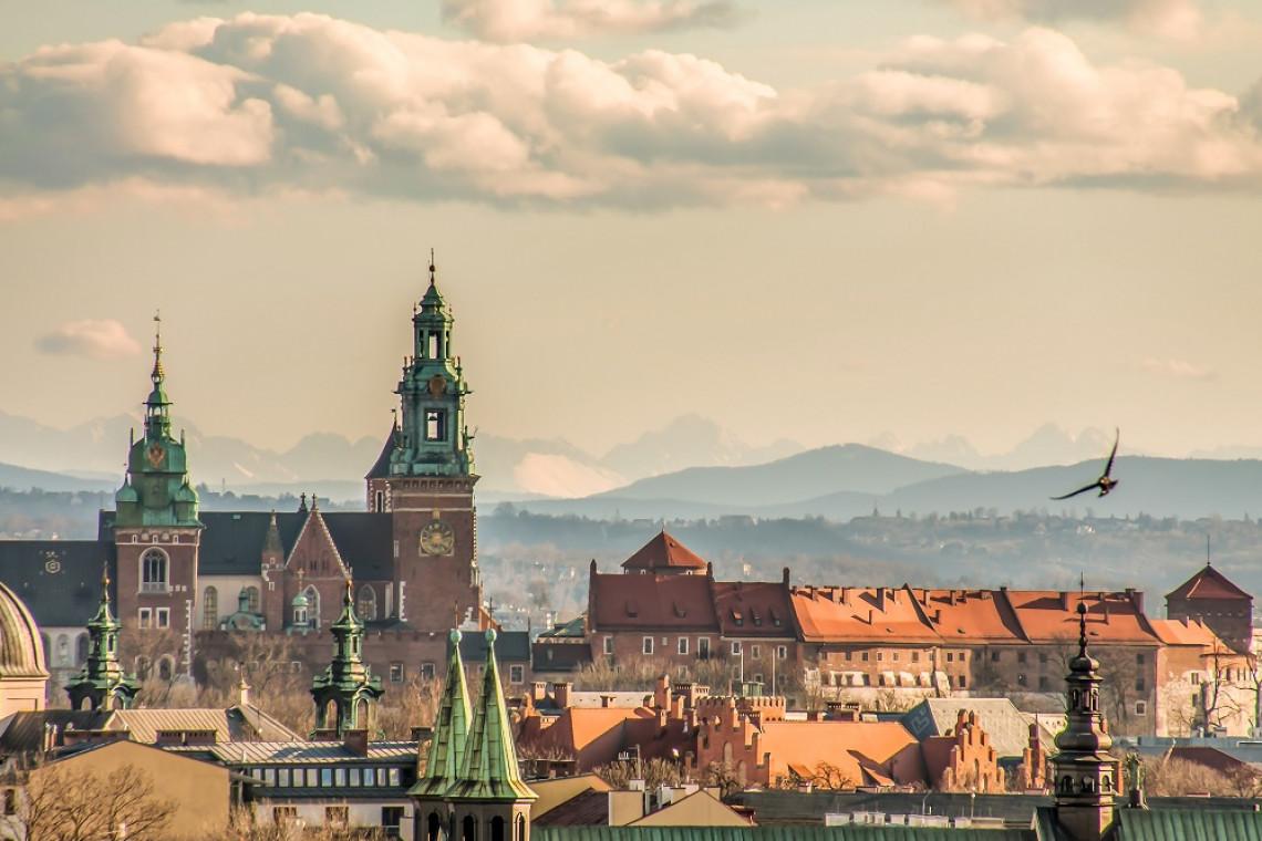 Powstała wyjątkowa mapa Krakowa
