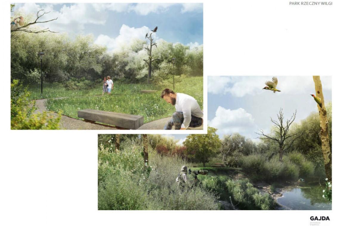 Tajemniczy park rzeczny Wilgi otworzy się na mieszkańców