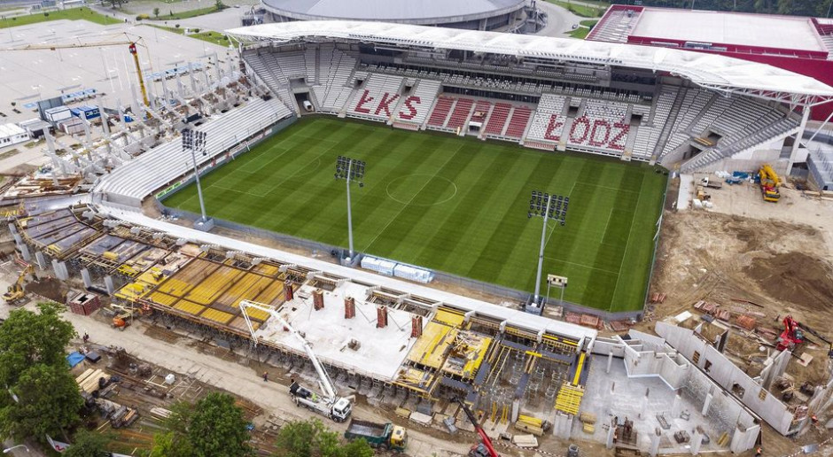 Rozbudowa stadionu ŁKS Łódź przyspiesza. Mirbud zrealizuje inwestycję szybciej?