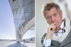 """Wolf D. Prix z wykładem z cyklu """"Mistrzowie Architektury"""""""