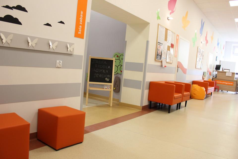 Szpital w Piotrkowie Trybunalskim ze Strefą Rodzica