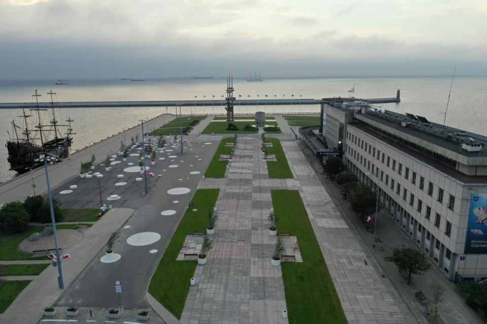 Molo Południowe w Gdyni przeszło metamorfozę