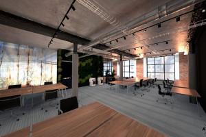 Designerskie wnętrza typu flex w łódzkiej Starej Drukarni