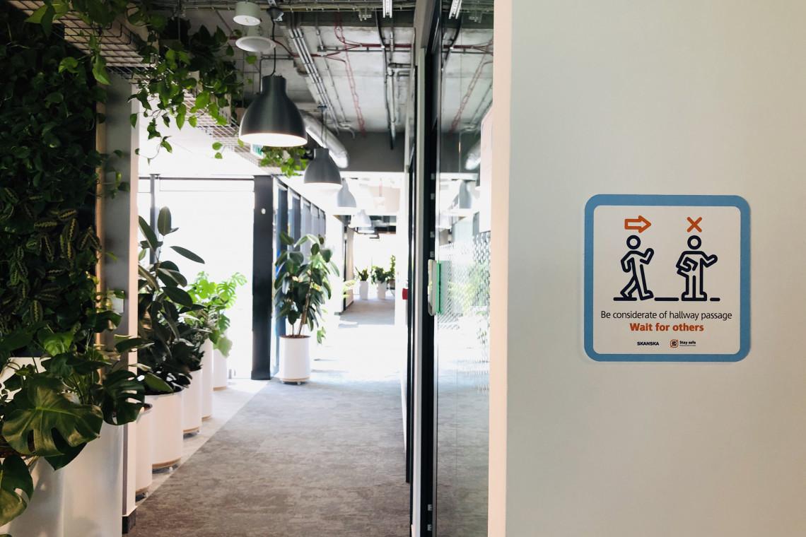 Skanska przedstawia nowy koncept biur. A także udoskonala standardy bezpieczeństwa