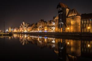 Gdańsk rozbłysł na biało-czerwono-biało
