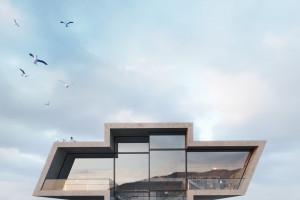 Niezwykłe wizje architektury zainspirowanej... logami znanych marek