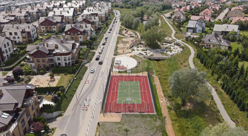Zakończyła się budowa parku na Warszewie w Szczecinie