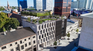 W Łodzi powstanie budynek mixed-use z tarasem widokowym na dachu