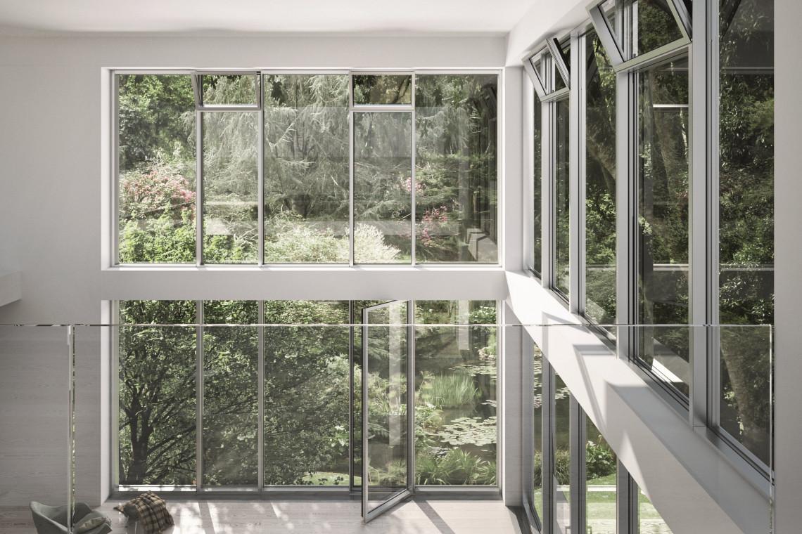Duże przeszklenia w architekturze: mogą być wygodne w użytku i energooszczędne