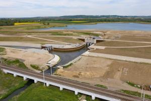 Zakończono budowę największego zbiornika przeciwpowodziowego w Polsce