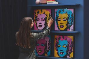 Obrazy z... klocków Lego. To nowa propozycja dla dorosłych od duńskiego giganta