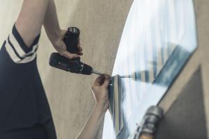 Niebieski szyld magla zapowiedzią designerskich zmian w Gdyni