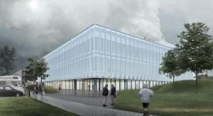 Zielony dach, nadmuchiwana fasada i solary. Nowy budynek Centrum Nauki Kopernik coraz bliżej
