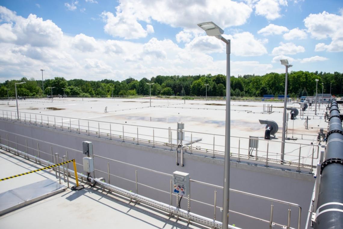 Ma pojemność ponad 20 basenów olimpijskich i kosztował 100 mln zł. Nowy zbiornik retencyjny w Warszawie