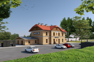 Rusza przebudowa dworca Kraków Swoszowice. Przywrócą historyczny wygląd dworca