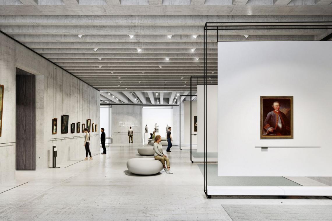 Wystawa pokonkursowa na aranżację wystawienniczą nowego Muzeum Książąt Lubomirskich