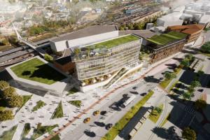 PKP chce wybudować budynek dworca. Deweloper zaś planuje budowę kompleksu Synergia