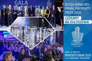 Rusza Prime Property Prize 2020. Zgłoś nominację w kategorii Architektura!