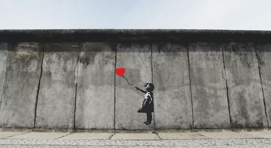 Skradziona słynna praca Banksy'ego została odnaleziona