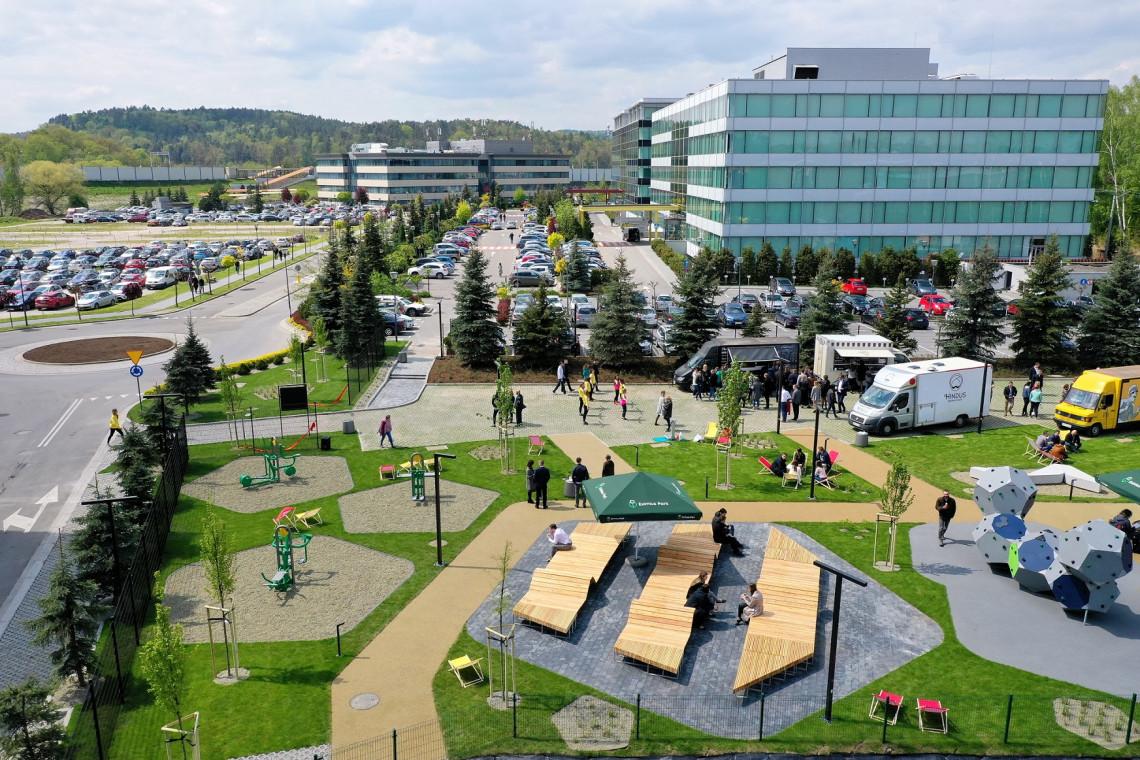 Kampus biurowy pod Krakowem zmienił oblicze
