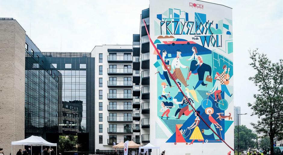 Nowy mural na warszawskiej Woli