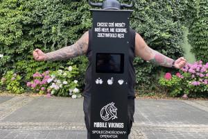 We Wrocławiu stanęły automaty do dezynfekcji dłoni