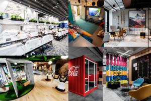 TOP 15: Najbardziej designerskie biura ostatnich miesięcy