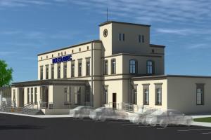 Trwa przebudowa dworca w Bolesławcu
