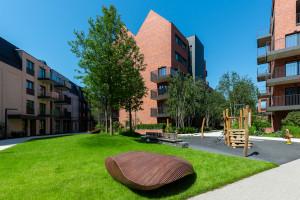 Studenci ASP ozdobili przestrzeń wspólną gdańskiej inwestycji