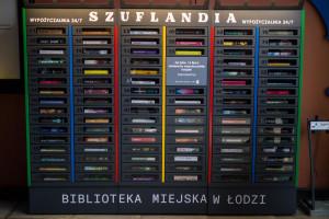 Szuflandia, czyli pierwsza w Polsce samoobsługowa biblioteka 24/7