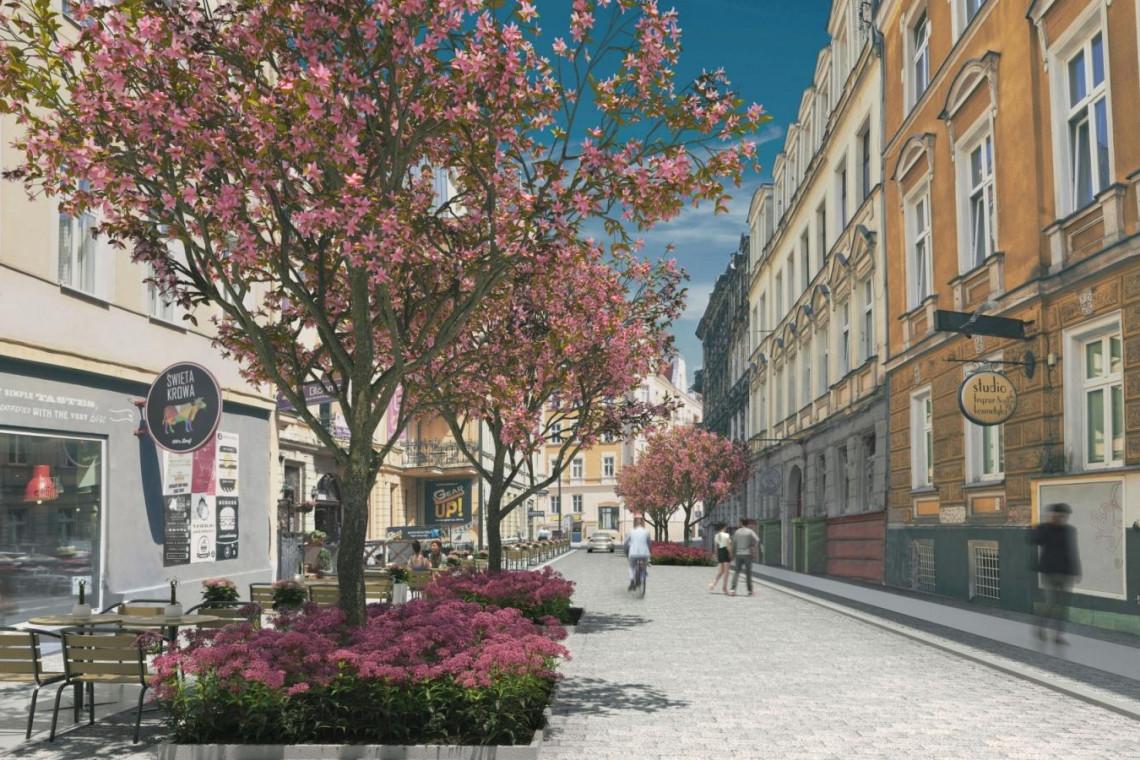 Kolejna ulica w Poznaniu zmienia się w deptak