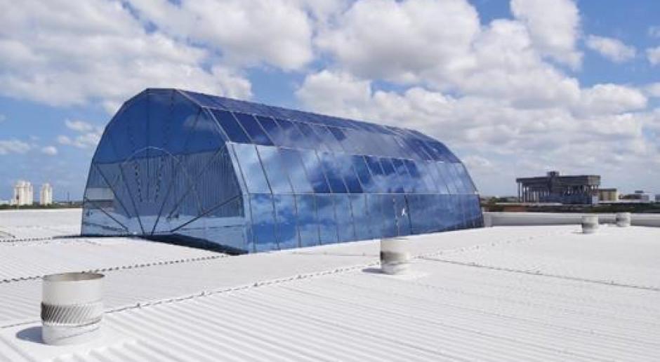 Polska innowacja na dachu lotniska w Brazylii